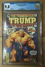 Tremendous Trump #NN Incredible Hulk #1 Homage Cover Swipe CGC 9.8 1260743005