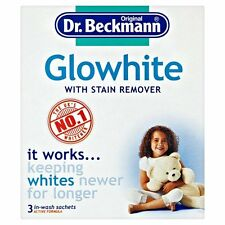 Dr Beckmann Original Glowhite Stain Remover Sachets 3 sachets x 40g