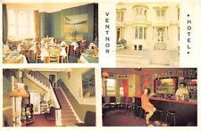 VENTNOR HOTEL MULTI-VIEW NORTH WALES POSTCARD (c. 1950s)