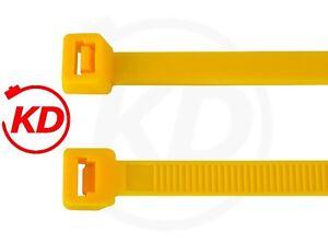 Kabelbinder GELB 2,5 x 98 200 * 3,6 x 140 * 4,8 x 200 290 360 * 7,8 x 360 365