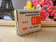 Battery for Sony NP-BG1/FG1 DSC-T100/20 N1/N2 W30/300/80/90 H9/10/20 H10