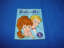 VINTAGE BARBIE KEN LIGHT BLUE FASHION BOOKLET JAPAN