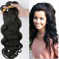 1 PC 100% Brazilian Virgin Hair Human Hair Extensions Weave Weft  50g  Body Wave