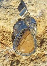 INDIANA CIONDOLO SAHARA DIASPRO PIUMA accessorio indiano argento sterling 925