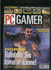 PC GAMER 1999xwing alliance,resident evil2,fighter squadron,starsiege,everquest