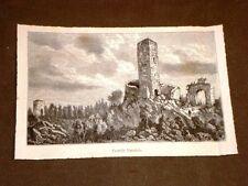 Castelli della Lombardia nel 1881 Castello Baradello