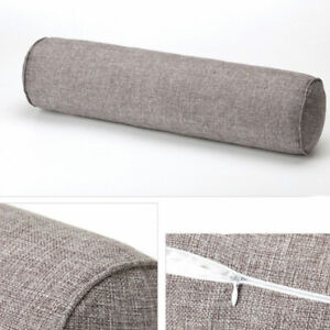 Round Bolster Pillow Roll Neck Cushion Support Orthopaedic Pregnancy Headrest UK