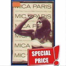 """MICA PARIS """" CONTRIBUTION """" MUSICASSETTA SIGILLATA (MC K7) ITALY"""