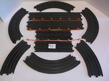 afx tomy slot car track parts lot in nice condition ho 1/64 scale
