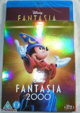 FANTASIA 2000 w/ Classics SLIPCOVER New BLU-RAY Walt Disney Movie w/ Destino