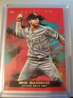 2021 Topps Inception NICK MADRIGAL Rookie RC Red #01 /75 White Sox Parallel