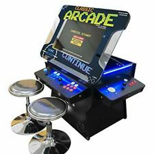 Full Size Commercial Grade Cocktail Arcade Machine - 1162 Classic Games