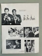 Vintage The Five Pennies Flyer Poster Danny Kaye Louis Armstrong