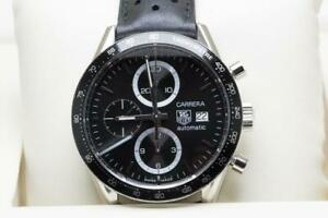 Tag Heuer Gents Carrera Wristwatch Ref CV2010-2 Calibre 16 Serviced