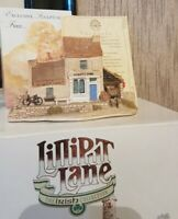 Lilliput Lane O'LACEYS STORE 1989 The Irish Collection Boxed Deed #Rare Vintage