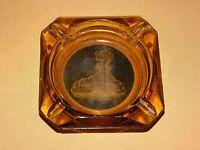 VINTAGE CIGARETTES TOBACCO PALACE CLUB CASINO NEVADA GLASS SOUVENIR ASHTRAY