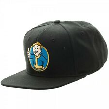Fallout Vault Boy Black Snapback New BIOWORLD