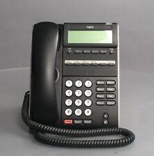 NEC DLE(6D)Z-(BK) NEC NEC DT300 DTL-6DE-1 Blk 6-Button Display Phone