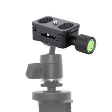 "Universal Tripod Mini Quick Release Plate Clamp 1/4"" Screw Photography Accessory"