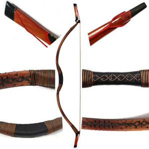 Traditional Recurve Bow Ambidextrous Archery Mongolian Horsebow Hunting Target