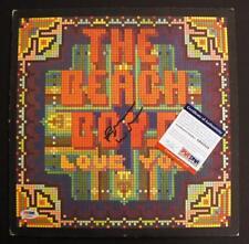 "BRIAN WILSON SIGNED Autograph - PSA/DNA, Beach Boys ""Love You"" Vinyl Complete!"