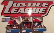 Schleich Superman stehend kniend kämpfend Justice League 22504 22505 22506 NEU