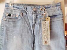 "NEW Women's Jeans R.E.U.S.E., Stretch Denim, 26"" Waist X 32"" Inseam, Embroidered"