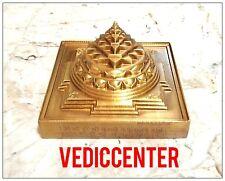 MERU SHRI YANTRA / FOR VASTU CORRECTION / ACCURATE DESIGN / ENERGIZED