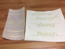 Raleigh Record Sprint Mk1 Decals Sticker Custom Made Retro