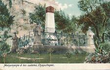 CHAPULTEPEC – Monumento A Los Cadetes – Mexico – udb (pre 1908)