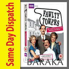 FAWLTY TOWERS Remastered Complete BBC DVD Series Seasons 1 & 2 R4 New