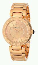 Versace Women's VNC060014 Leda Analog Display Swiss Quartz Gold Watch