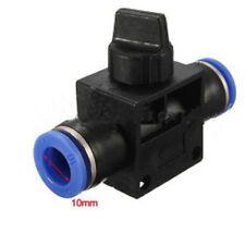 12-Válvula neumática 12 mm recto calce ajuste rápido empuje Tubo Accesorios de aire de 2 vías