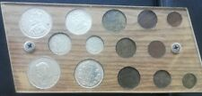 Lithuania old   full coin set with silver bronze 14 coins 1925 - 1938