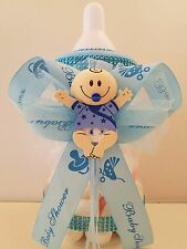 "Baby Shower Centerpiece Fillable Bottle Large 12""  Piggy Bank Table Decorations"