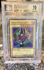 Yu-Gi-Oh! Legend of Blue Eyes Unlimited Dark Magician #LOB-005 BGS PRISTINE 10