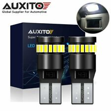 AUXITO CANBUS Error Free 168 194 2825 LED License Plate Light Bulb 6000K White
