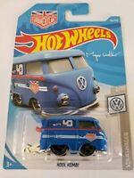 Hot Wheels 2019 Kool Kombi Magnus Walker Urban Outlaw New Volkswagen 2/10 Blue