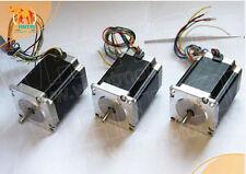 [EU&DE]3PCS Nema23 Stepper Motor 270oz-in1.9Nm 3A,4leads 57BYGH627 CNC,engravin
