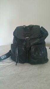 Black Backpack Ladies