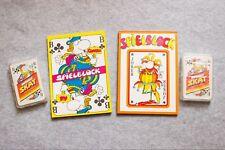 Mordillo Skat Spielkarten und Blöcke | gelbe / braune Rückseite, Heye, neu, ovp