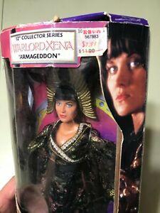 """Vintage NIB Xena Warrior Princess 12"""" Warlord Doll"""
