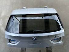 14-18 BMW X5 F15 Trunk Deck Lid Panel Lift Gate Rear Glass Trim Assembly OEM