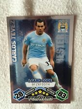 Topps Match Attax Trading Card - Carlos Tevez, Manchester City
