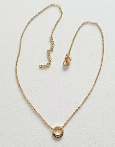 18k Gold Plated Delicate Smiley Face Necklace 90s Other Bloggers Stories
