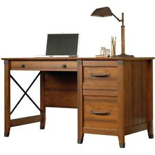 Wood Computer Desk w/ Drawers Office Home Workstation Laptop PC Table Furniture