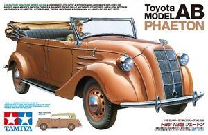 Tamiya 35338 1/35 Scale Military Car Model Kit Toyota Model AB Phaeton