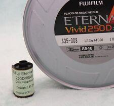 35mm-Fuji Vivid 250D/8546 motion picture color negative film, 36 exp