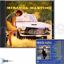 MIRANDA MARTINO RARO CD OMONIMO STAMPA BRASILIANA - FUORI CATALOGO