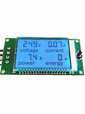 100A AC Digital LED Power Meter Alarm Monitor Voltage KWh Watt Voltmeter Ammeter